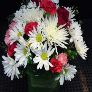 Costco Flowers Floral Arrangement Assorted Varieties in Vase