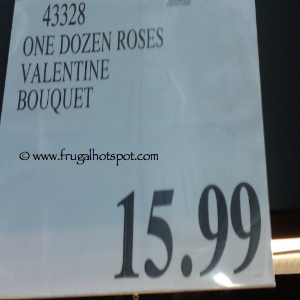 Costco Flowers One Dozen Roses Valentine Bouquet Price
