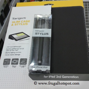 Targus Slim Case with Stylus for iPad 3rd Generation