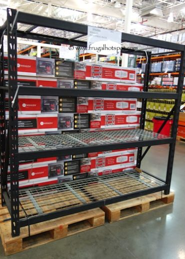 Costco Display of Whalen Industrial Rack