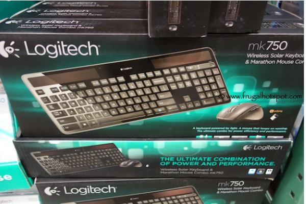 Logitech Wireless Solar Keyboard & Mouse MK750