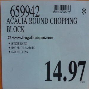 Mangoleaf Acacia Chopping Block Costco Price
