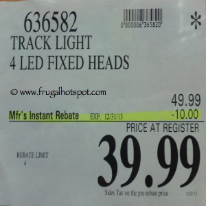 Innova Lighting 4 Light LED Track Costco Price