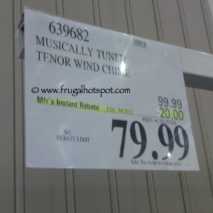 Style Craft Tenor Wind Chime Costco Price