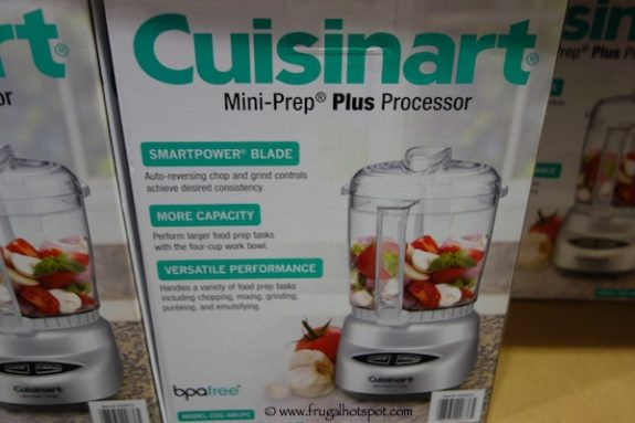 Cuisinart 4-Cup Mini Prep Plus Food Processor at Costco