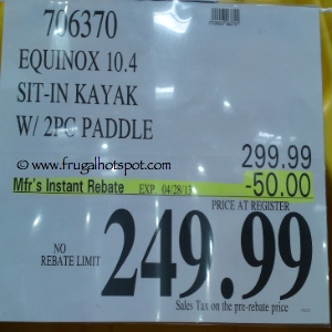 Equinox 10.4 Kayak Costco Price