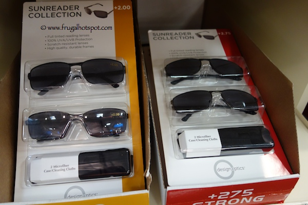 Design Optics 2-Pack Sunglass Reader Costco