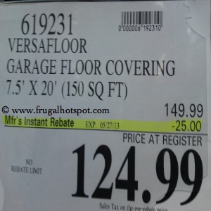 New Age Versa Floor Heavy Duty Garage Flooring Costco Price