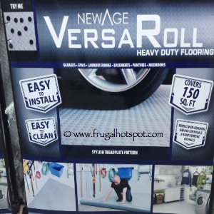 NewAge VersaRoll Garage Flooring