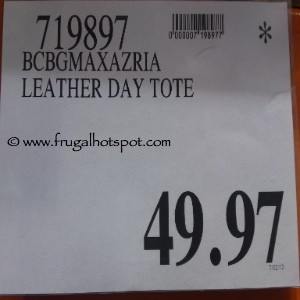 BCBGMAXAZRIA Leather Day Tote Costco Price