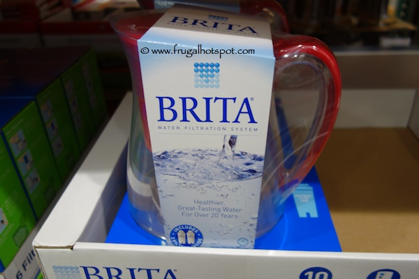 Brita Monterey Pitcher with Two Filters