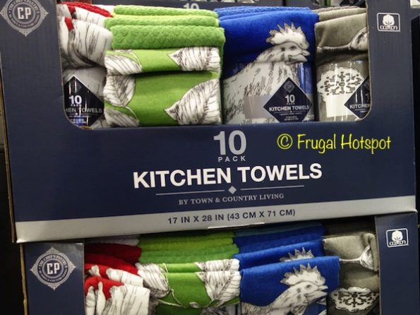 Chef's Pantry Kitchen Towel Set 10-Pack at Costco
