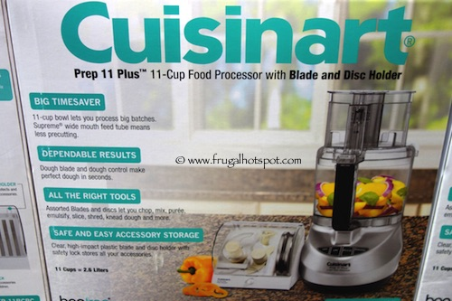 Cuisinart Prep 11 Plus 11-Cup Food Processor With Blade Storage Costco