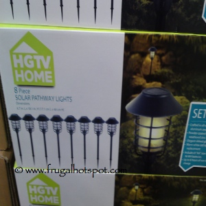 HGTV Home Solar Pathway Lights 8 Piece Set