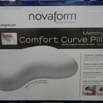 Novaform Memory Foam Comfort Curve Pillow Costco
