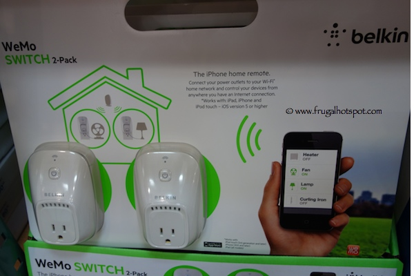 Belkin Wemo Switch 2-Pack Costco