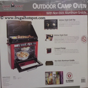 Camp Chef Outdoor Camp Oven & Range