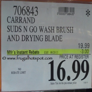 Carrand Suds N Go Wash Brush Costco Price
