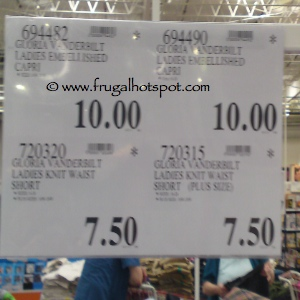 Clothing Clearance Costco Price
