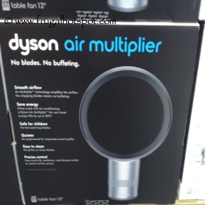 "Dyson Air Multiplier Bladeless 12"" Table Fan"