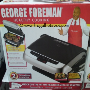 George Foreman Evolve Grill With Waffle Plates | Costco
