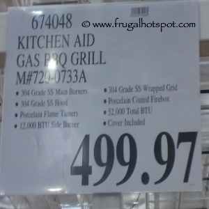 KitchenAid Gas BBQ Grill Costco Price