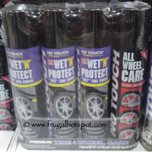No Touch Wet 'N Protect Wheel Care | Costco