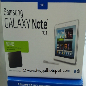 "Samsung Galaxy Note 10.1"" Tablet With Sleeve & S Pen"