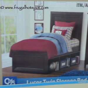 Cafekid Lucas Twin Storage Bed