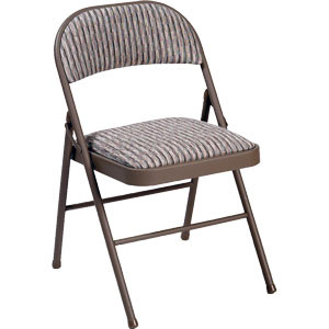Costco Sale Meco Deluxe Padded Upholstered Folding Chair Frugal Hotspot