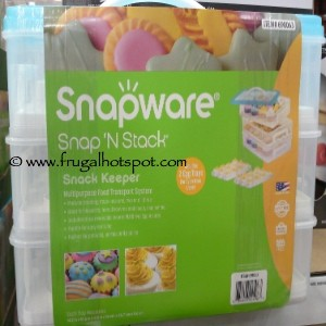 Snapware Snap 'N Stack Cupcake Carrier & Snack Keeper