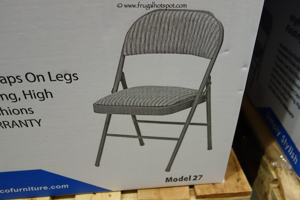Costco Sale Meco Deluxe Padded Upholstered Folding Chair