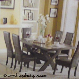 Bayside Furnishings Xenia 7 Piece Dining Set
