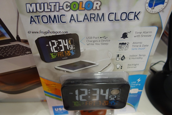 Costco Deal: La Crosse Multi-Color Atomic Alarm Clock $14.99