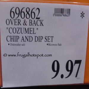 Over And Back Cozumel Chip And Dip Set Costco Price