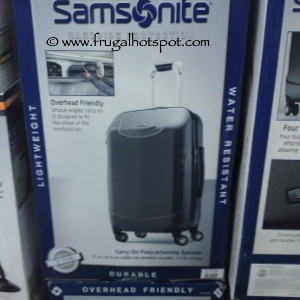 Samsonite Spinner Carry On Costco