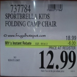 Sportbrella Kids Mini Chair Costco Price
