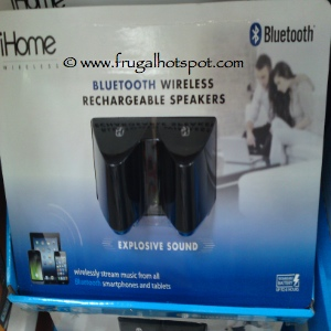 iHome Bluetooth Rechargeable Speaker