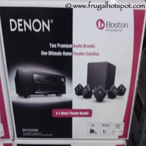 Boston Acoustics & Denon Receiver Home Theatre Bundle