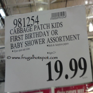 Cabbage Patch Kids Costco Price
