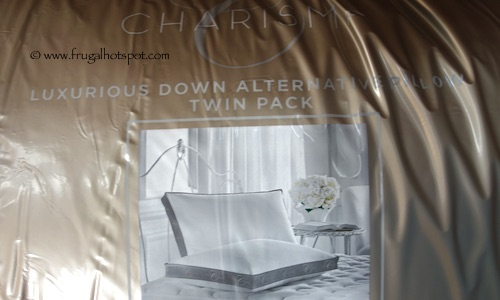 Charisma Luxury Down Alternative Pillow 2-Pack Costco