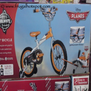 """Disney Planes 16"""" Bicycles by Huffy Costco"""