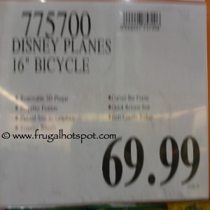 """Disney Planes 16"""" Bicycles by Huffy Costco Price"""