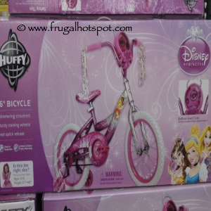 """Disney Princess 16"""" Bicycle by Huffy Costco"""