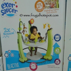 Evenflo ExerSaucer Jungle Quest Jumper