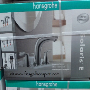 Hansgrohe Solaris E Chrome Widespread Bath Faucet