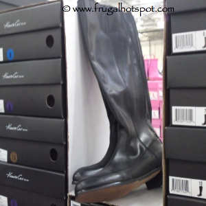 Kenneth Cole Black Leather Boot Costco