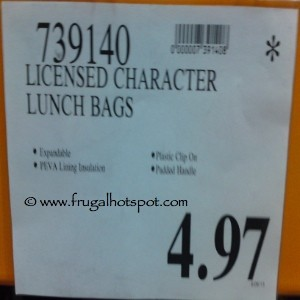 Licensed Lunch Bag Costco Price