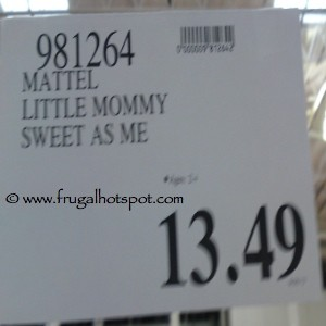 Little Mommy Sweet as Me Doll Costco Price