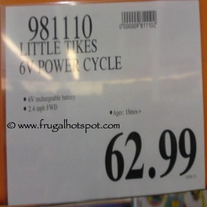 Little Tikes 6V Power Cycle Costco Price